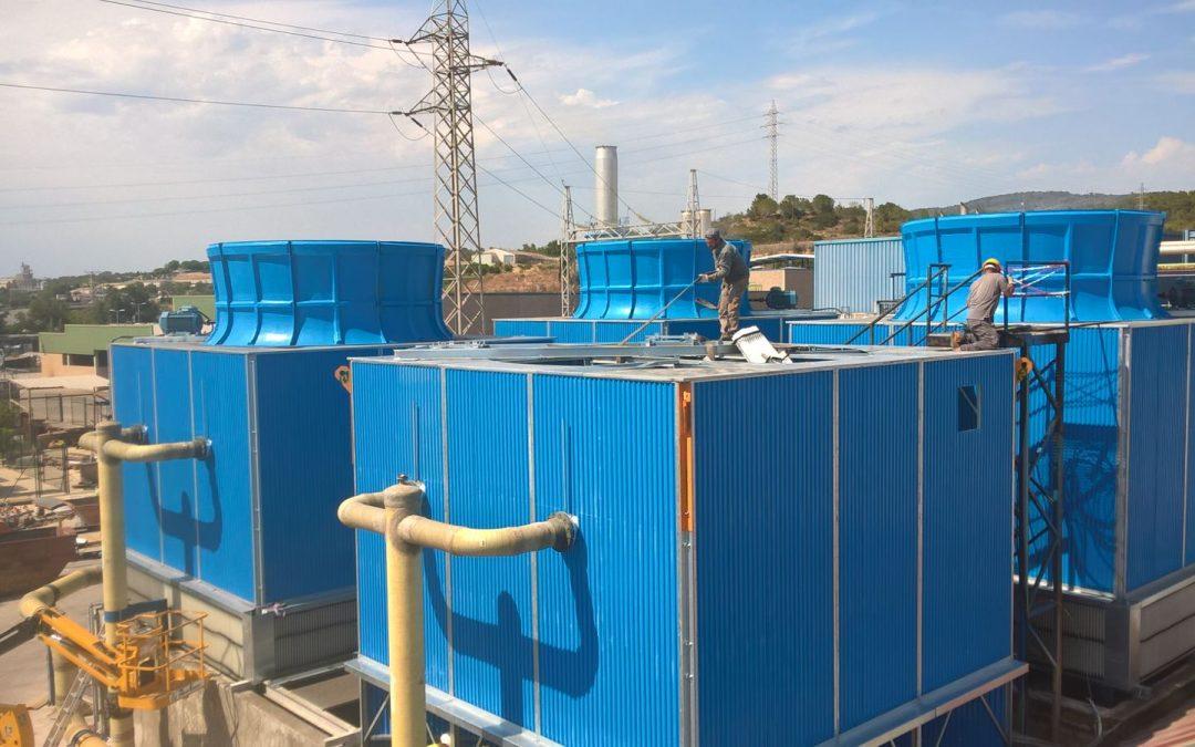 Torres sustitución Tortosa Energy