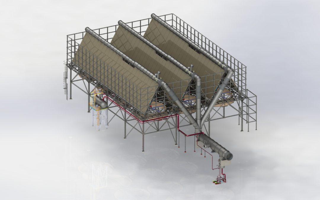 Shagaya Renewable Energy Park: Seleccionado por TSK como proveedor para el Aerocondensador de la planta termosolar